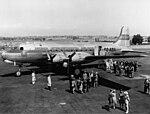 DC-4 SE-ABA 1946 Den är publicerad många gånger.jpg
