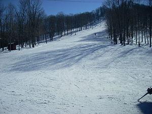 Denton Hill State Park - The ski slopes at Denton Hill State Park