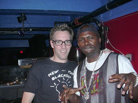 "In the early 1970s in the South Bronx, a young teen DJ called Grand Wizzard Theodore invented the ""DJ scratch"" technique. Other DJs, like Grandmaster Flash, took the technique to higher levels to the familiar sound and technique we hear today. DJ Grand Wizzard Theodore (right), inventor of vinyl record scratching technique.jpg"