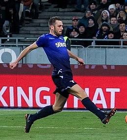 Seconda Maglia Inter Milan STEFAN DE VRIJ
