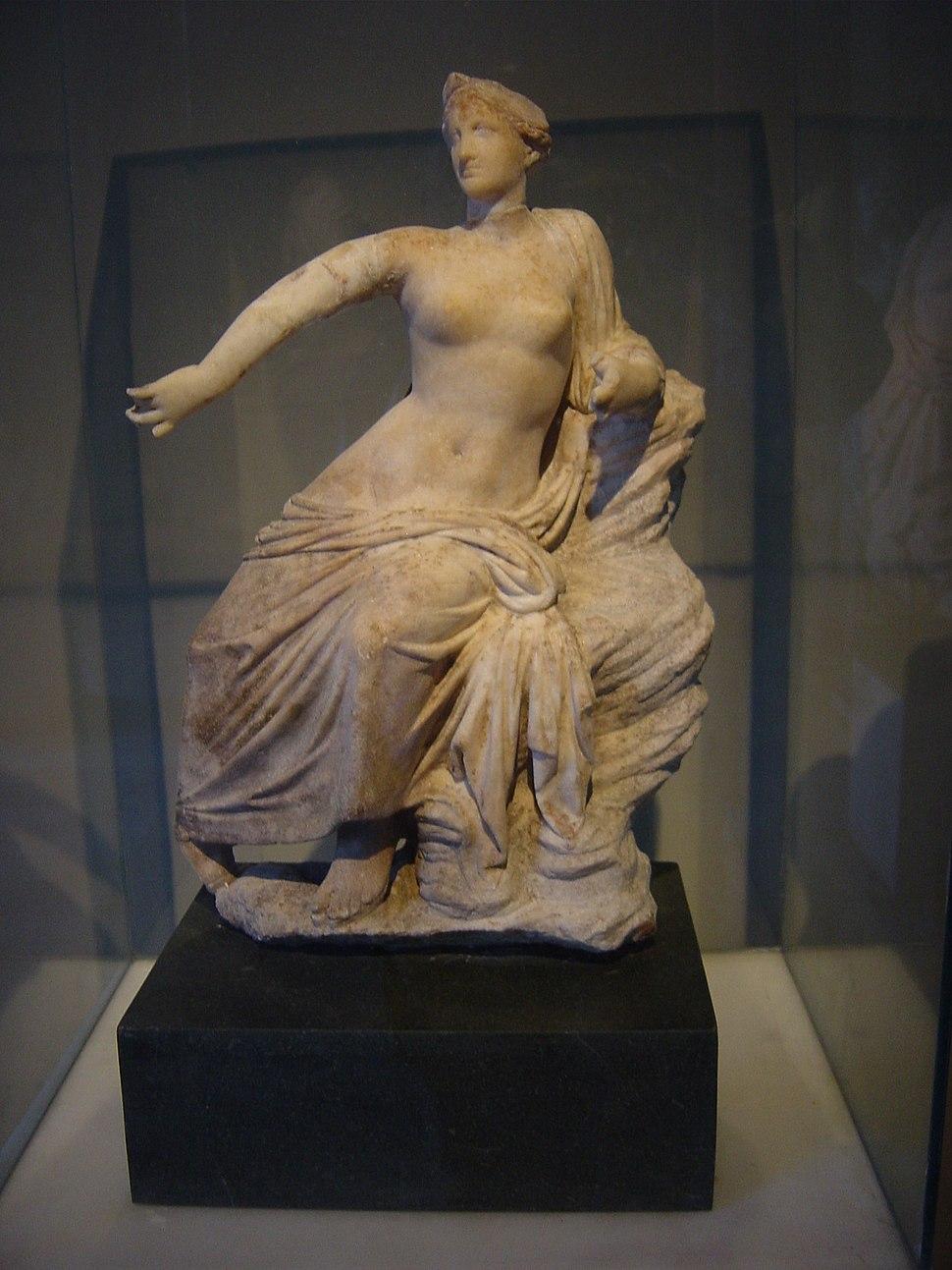DSC04485a Istanbul - Museo archeol. - Afrodite - sec. III-II a.C. - da Priene - Foto G. Dall'Orto 28-5-2006