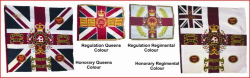 DWR Regimental Colours RLH