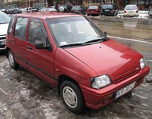 Daewoo Tico - Image: Daewoo Tico SX in Kraków