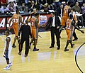 Dan Majerle and Suns players 2009.jpg