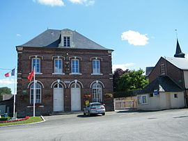 The town hall in Dancourt