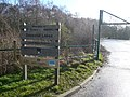 Daneshill Lakes - Car Park Entrance - geograph.org.uk - 674042.jpg