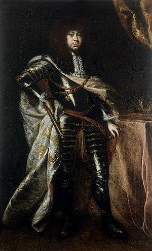 Michał Korybut Wiśniowiecki - Painting by Daniel Schultz