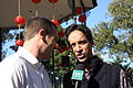 Danny Pudi at Play for LA Hole 9 Olvera Street(6).jpg