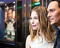 Das ewige Leben Wien-Premiere 2015 red carpet12 Nora von Waldstätten Christopher Schärf.jpg