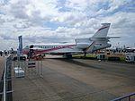 Dassault Falcon 7X (N163FJ) on display at the 2015 Australian International Airshow.jpg