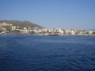 Datça - General view of a quay in Datça