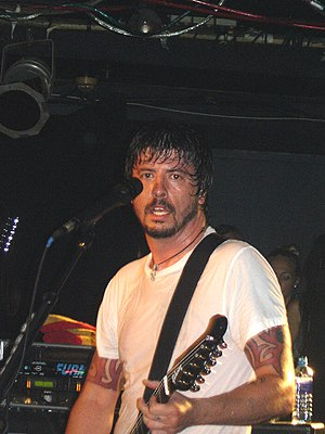 Dave Grohl - Grohl on stage in 2006