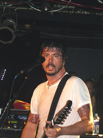 Dave Grohl (pictured in 2006) founded Foo Fighters after his previous band Nirvana ended in 1994 Dave Grohl in London.jpg