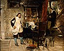 David Dalhoff Neal - Oliver Cromwell of Ely Visits Mr. John Milton - 1978.615 - Museum of Fine Arts.jpg
