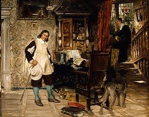 Oliver Cromwell of Ely Visits Mr. John Milton