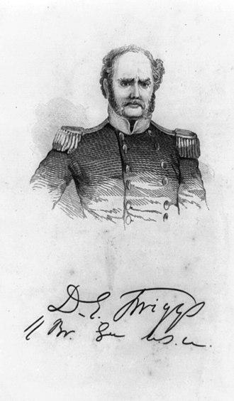 David E. Twiggs - David Emanuel Twiggs, 1850