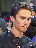 Hogg at the Rally to Support Firearm Safety Legislation