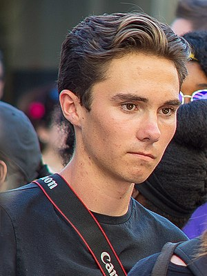 Hogg at the Rally to Support Firearm Safety Legislation in Fort Lauderdale, February 17, 2018