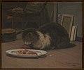 David Jacobsen - Katten i atelieret - KMS3402 - Statens Museum for Kunst.jpg