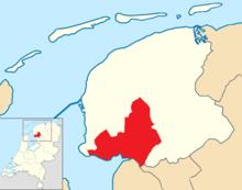 De Fryske Marren location map municipality NL 2018.png