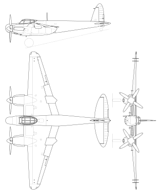De Havilland Mosquito Mk19.svg