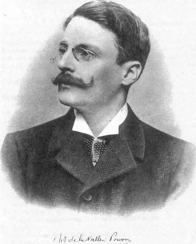 Portrait of Charles Jean de la Vallée Poussin