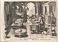 De uitvinding van het kompas, Jan Collaert II, Museum Plantin-Moretus, PK OPB 0186 003.jpg