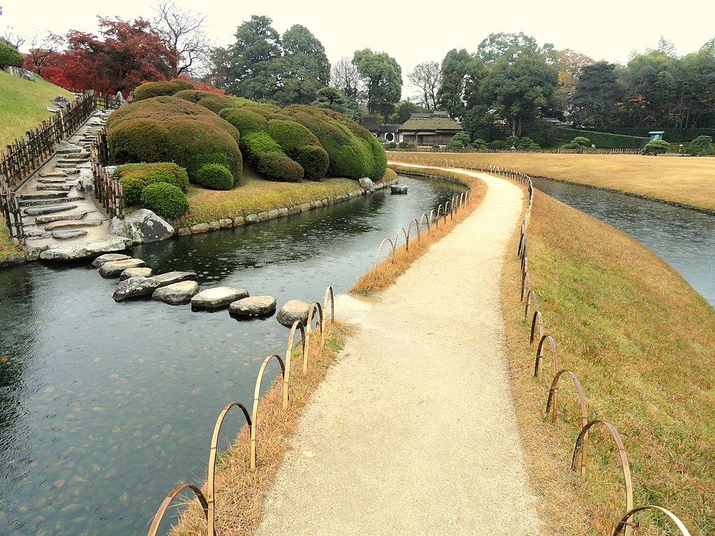 December view - Korakuen (Okayama) - DSC01683