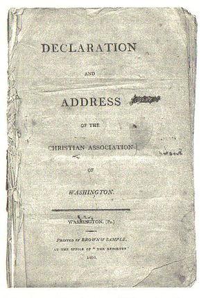 Declaration and Address - Declaration and Address, Published December 1809