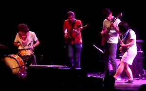 Deerhoof - Deerhoof playing at Prospect Park in Brooklyn in 2008