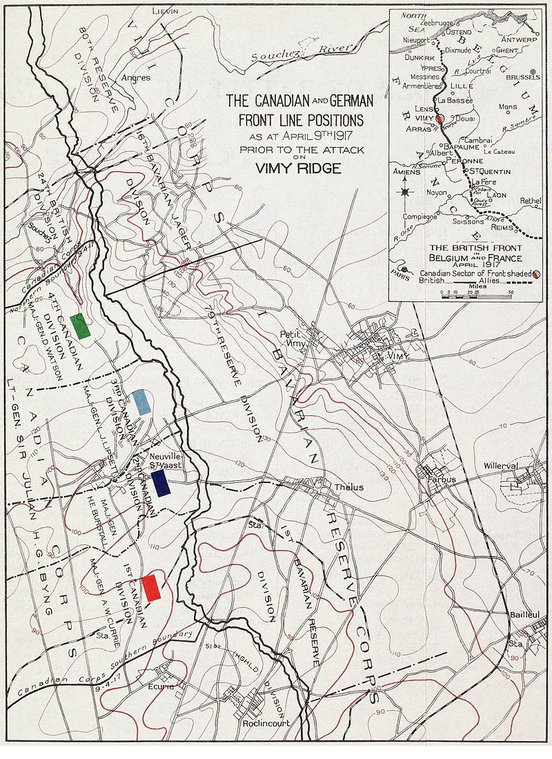 Defender and Attackers - Vimy Ridge