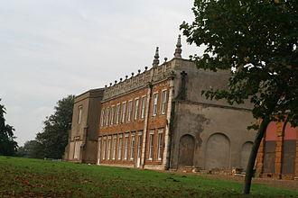 Delapré Abbey - Delapré Abbey - the south facade