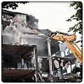 Demolition of former HIV research building (28385600134).jpg