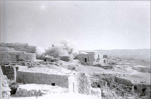 Operation Ha-Har - Demolition of houses in Bayt Nattif, the Har'el Brigade, 1948
