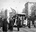 Demonstrations1919, tram in cairo.jpg