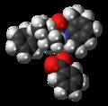 Denatonium benzoate 3D spacefill.png