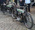 Dene motorcycles (BB 9726) & (SV 7721), Town, Beamish Museum, 6 October 2012.jpg
