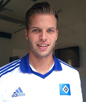 Dennis Diekmeier - Diekmeier with Hamburger SV in 2014