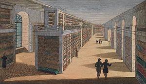 University Library of Tübingen - University Library of Tübingen, circa 1822.