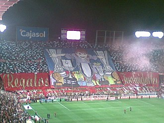 Ramón Sánchez Pizjuán Stadium - Image: Derby Nervion