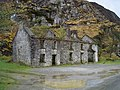 Derelict houses in the Gap of Dunloe - geograph.org.uk - 769359.jpg