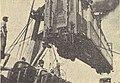 Desembarque de carruagens em Leixoes - GazetaCF 1094 1933.jpg