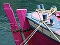 Detail of Boat in Harbor - Palaiokastritsa - Corfu - Greece (41400873955).jpg