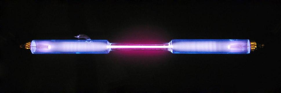 Deuterium discharge tube