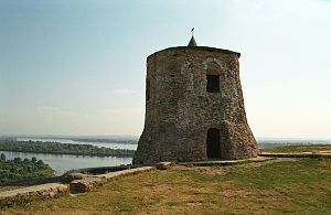 Volga Bulgaria - Devil's Tower in Yelabuga, 12th century
