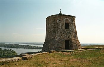 The Devil's Castle near Jelabuga, built by the Volga Bulgarians