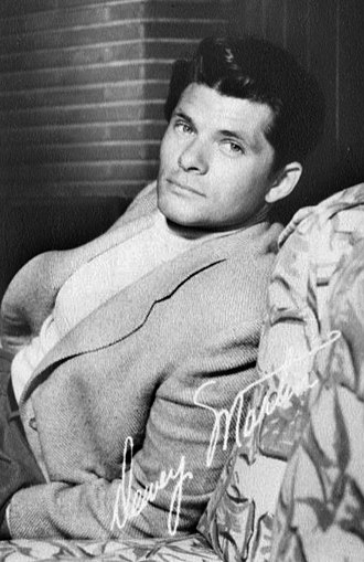Dewey Martin (actor) - Dewey Martin c. 1950s