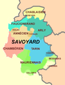 Dialects of the Savoyard language.png
