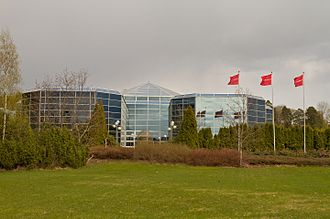 Norwegian Air Shuttle - Diamanten, the headquarters of Norwegian Air Shuttle
