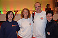 Die!!! Weihnachtsfeier 2013, 264 Deutsches Rotes Kreuz, das Team der Johanniter-Unfall-Hilfe, Ortsverband Hannover-Wasserturm ... alle arbeiteten an diesem Tage ehrenamtlich.jpg